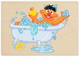 tb40aaj  travel bug dog tag ernie and his rubber duckie rubber duck clipart rubber ducky clipart baby shower
