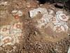 Antikes Mosaik überall