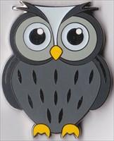 Riddle Owl Geocoin