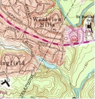 1965 USGS map