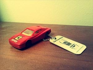 Red Ferrari Testarossa by David Santos 87
