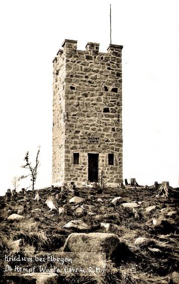 Puvodní Kempfova vež z roku 1936