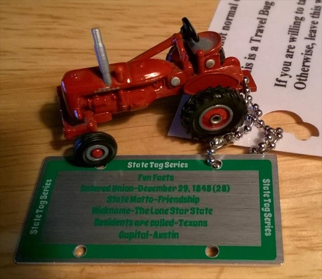 Red Tractor Plate Outlit : Tb y texas state plate tag pete s