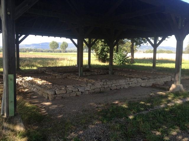 Merdinger Römerbad Grundmauern