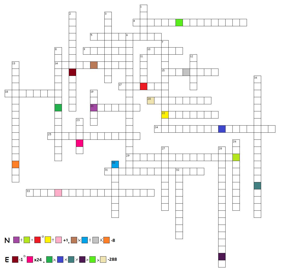 Puzzle mit Formel - Überarbeitet