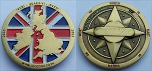UK Geocoin 2006