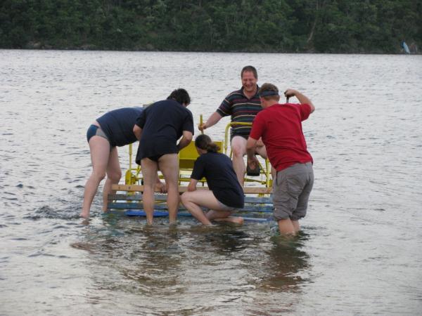 Jak utopit šlapadlo - foto Opicaci