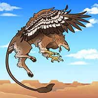Hidden Creatures: Gryphon
