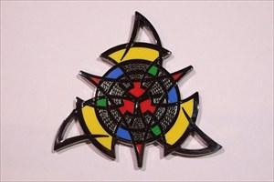 The Celtic Triangle Geocoin - Black Nickel
