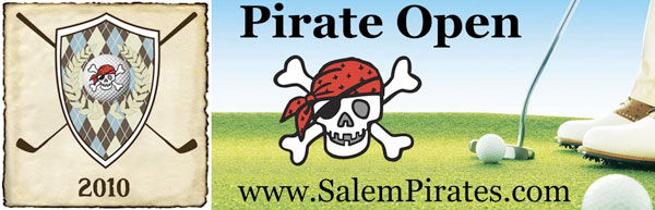 Pirate Golf 2009 Banner