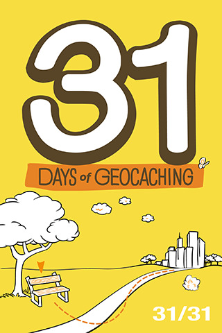 31 Days of Geocaching 31 of 31