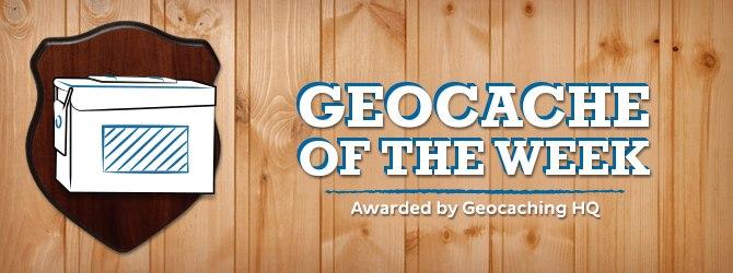 Geocache of the week!