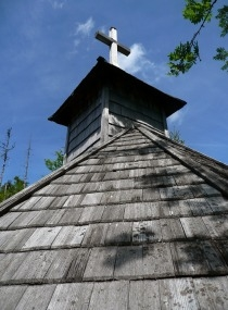 Das Dach mit dem Kreuz / Došková střecha s křížem