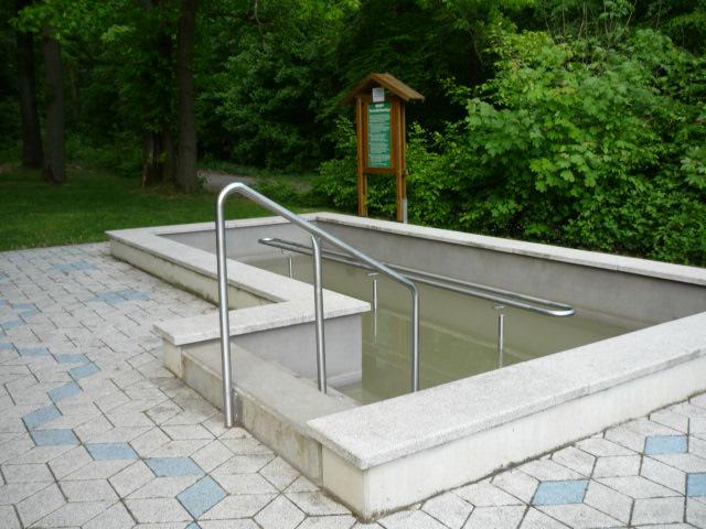Kneipp-Becken Vorholz