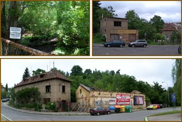 Stav osady Buďánka z ulice - 2012