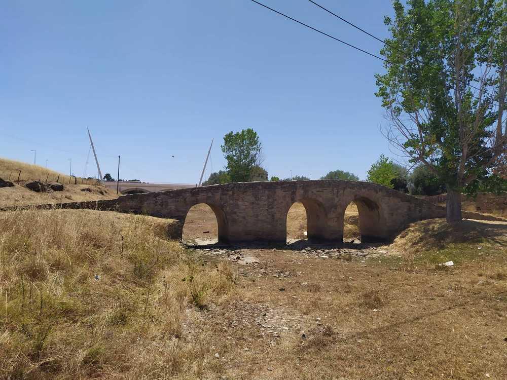 Ponte romana vista lateral