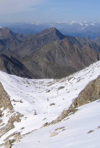 Campingplatz, jenseits der 3.000 m