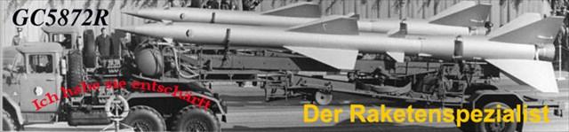 Der Raketenspezialist am 11.03.2017