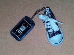 Black Running Shoe