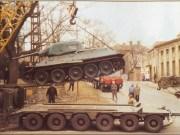 Finále pomníku, odvoz tanku na restaurování