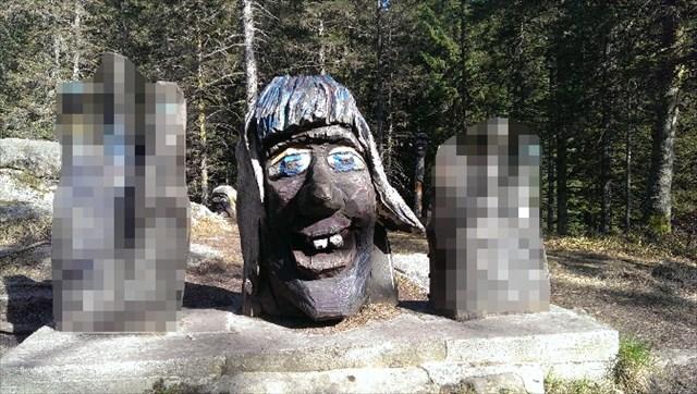 Trollskogen - hode