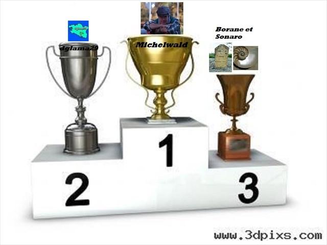 1 Michelwald 2 Dglama 3 Sorano - Borane