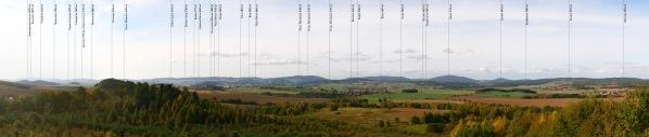 Panorama slegendou