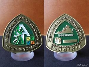 Appalachian Trail Geocoin - Virginia