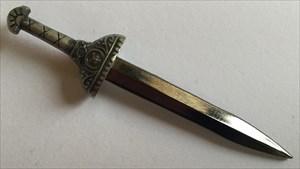 LordT's GeoXantike Heldenlegion Sword Geocoin