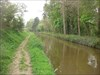 Peaceful canal on the way back from the cache