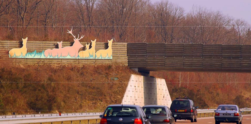 Passage à faune sur A39