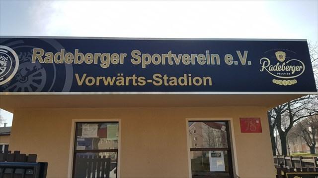 Am Start in Radeberg