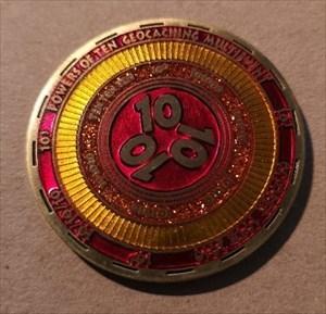 10 10 10 Powers of Ten Multi Event Geocoin - ON fr