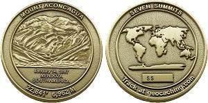 Seven Summits, Aconcagua Geocoin