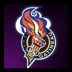 Gatineau Olympiques logo purple
