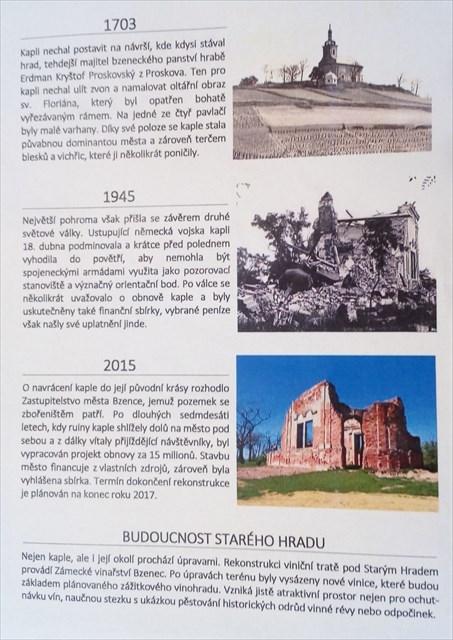 historické mezníky stavby