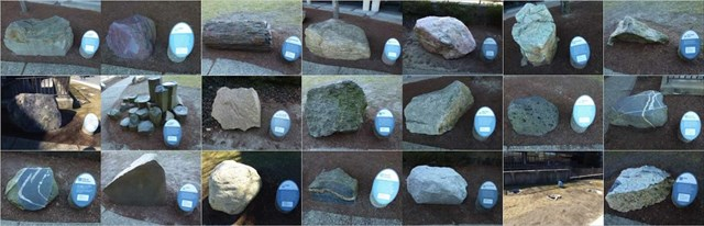 Rock Garden Collage image