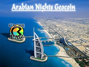 Arabian Nights Geocoin