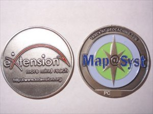 Map@Syst Geocoin