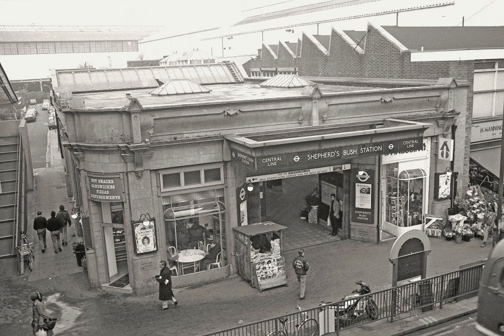 Station in 1900 when it opened