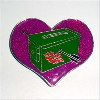 Purple Heart Loved Your Cache