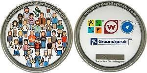 Groundspeak Lackey 2009 Geocoin