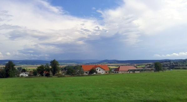 Samota Sušárna a východ Plzeňského kraje