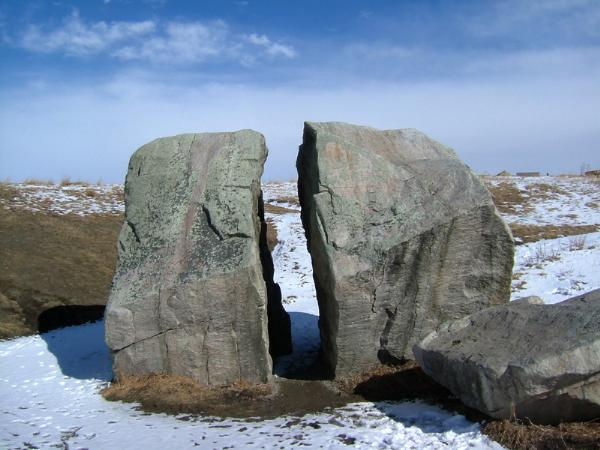 Gc11fpm Nose Creek Pathway Erratic  Earthcache  In Alberta  Canada Created By Bish0p