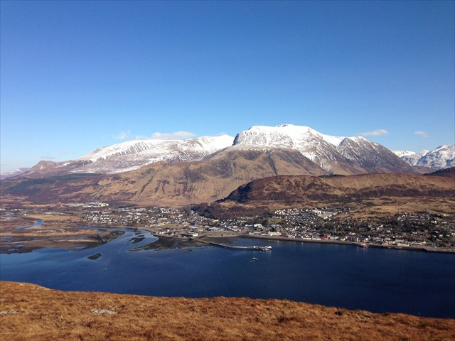 lochaber mountain view