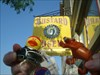 Even a biker duck would taste good with condiments Mustard Museum in Mount Horeb WI