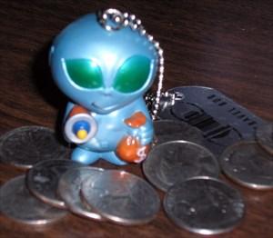 Alien Bank Robber