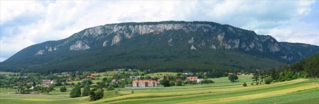 Panorama der Hohen Wand - Westteil