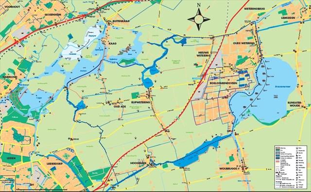 Kaart Kagerplassen