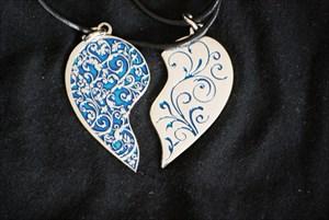 2 Hearts in Love Geocoin